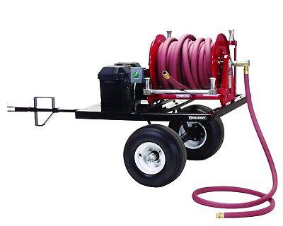 Reelcraft 600910 Hose Reel Trailer W12 V Dc Motor Driven Hose Reel Eb37118 L12d