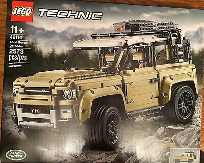 NEW LEGO 42110 LAND ROVER DISCOVERY TECHNIC BUILDING SET TOY TRUCK OFF ROAD MODE