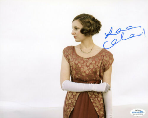 "Laura Carmichael ""Downton Abbey"" AUTOGRAPH Signed 8x10 Photo B ACOA"