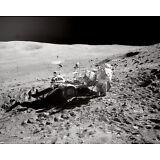 Apollo 16 John Young w/ Rover Moon Landing Walk Moon 8 x 10 Photo Picture #kp1