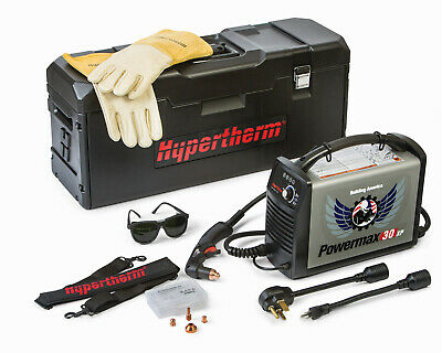 Hypertherm Powermax 30 Xp Plasma Cutter 088079 With Case Gloves Extras