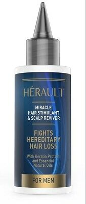 Herault Hair Stimulant and Scalp Reviver: Best Hair Loss Treatment for Men,