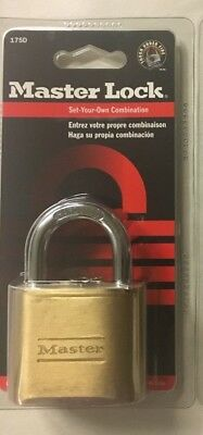 Master Lock Padlock Set Your Own Combination Lock 2 In. Wide 175d
