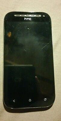 "Unlocked Original HTC One SV 4"" Androd Phone 4G LTE Wifi GPS 5MP/1.6MP Camera"
