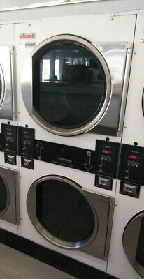 Cissellalliance White Stack Dryer Coin Op 30lb Model Itt30n3vb2g1w01 Ref