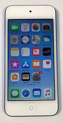 Apple iPod Touch 6th Generation Blue 128 GB - Fully Functional 90 DAY WARRANTY