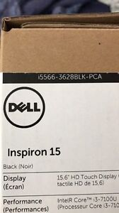 Dell Inspiron 15 i5566-3628BLK-PCA Laptop