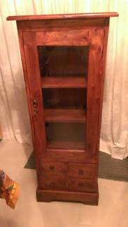 TIMBER DISPLAY CABINET WITH KEY!!!!!! Dandenong North Greater Dandenong Preview