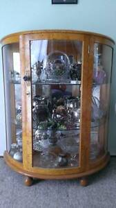 ART DECO HALF ROUND CRYSTAL CABINET !!!! Dandenong North Greater Dandenong Preview