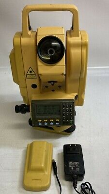 South Nts-355r Total Station Dual Display Transit W Charger Battery