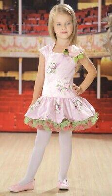 ädchen Kleid Festlich Gr. 152 Rosa Weiß So Schön (Festliche Kleider Kleinen Mädchen)
