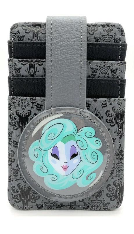 Disney Parks Haunted Mansion Madame Leota Credit Card Holder ID Slim Wallet NEW