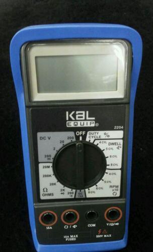 NEW KAL EQUIP  Digital Multimeter