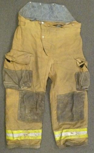 40x28 Janesville Tan Firefighter Pants Turnout Gear Bunker P025