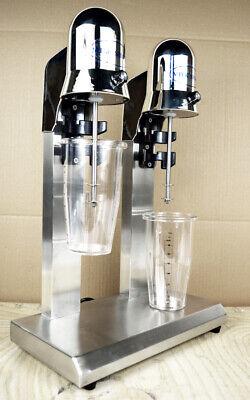Double Head Milk Drink Shake Mixer Machine Stainless Steel Tea Mixer Blender Cup