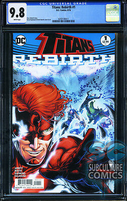 TITANS REBIRTH #1 - FIRST PRINT - CGC 9.8 - SOLD OUT - DC COMICS RELAUNCH