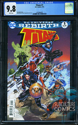 TITANS #1 - FIRST PRINT - CGC 9.8 - SOLD OUT - DC COMICS RELAUNCH