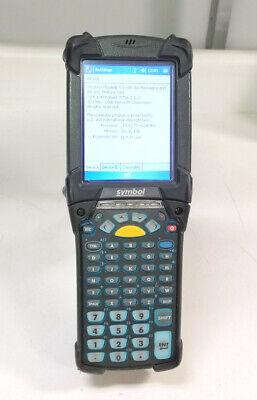 Symbol Motorola Mc9090-gf0hjefa6ww Wireless Barcode Scanner W Battery Stylus