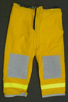 48x30 Janesville Pants Firefighter Turnout Bunker Fire Gear W Liner P003