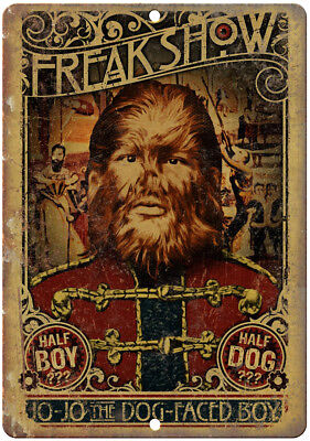 Freak Show Dog Face Boy Circus Poster 10