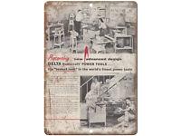 "Blackhawk Porto-Power Tool Vintage Ad 10/"" X 7/"" Reproduction Metal Sign Z85"