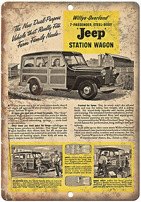 Willys-overland Wagon (Jeep Willys Overland Station Wagon - 10