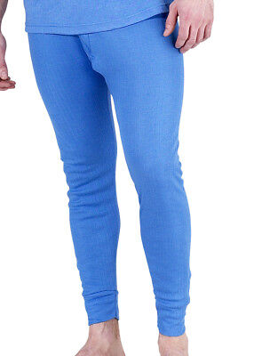 Layer Long Johns (Thermal Long Johns Blue/White Small to XXXL Warm Base Layer)