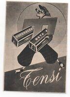 Pubblicità Vintage Foto Pellicole Tensi Photo Advert Reklame Werbung Publicitè -  - ebay.it