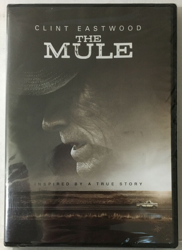 THE MULE (New Sealed DVD See Picts!) Clint Eastwood - Inspired By A True Story