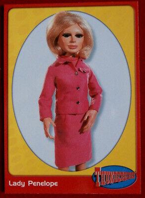 THUNDERBIRDS - Lady Penelope Creighton-Ward - Card #30 - Cards Inc. 2001