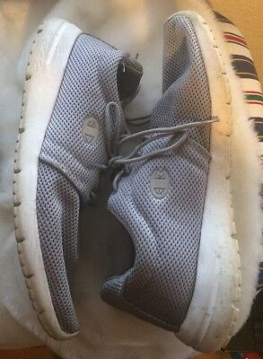 Champion Sneakers Gray White Net 10.5 Tennis Shoe Running Jog Walking Athletic for sale  Shipping to India