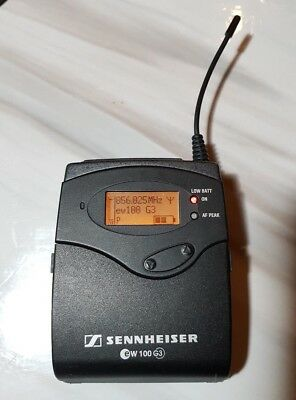 Sennheiser EW100 G3 Wireless Bodypack Mic Transmitter Ch70 UK Legal 823-865 MHz segunda mano  Embacar hacia Spain