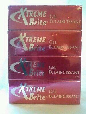 4 ~ XTREME BRITE Skin Lightening, Brightening Gel 1oz. For Underarms, Dark Spots ()