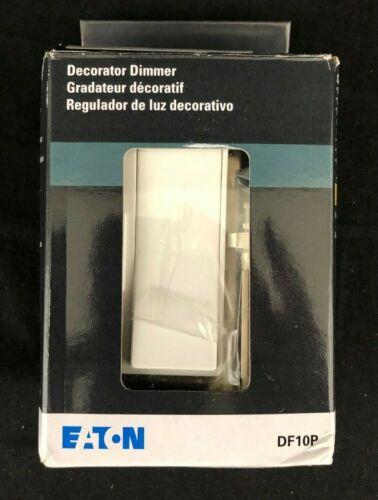 Eaton Controls DF10P C1 Decorator Dimmer 120/277V Ivory, White, Almond Plates