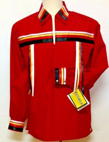 Native American Regalia Nakoda Made Genuine KeTukla-Nakoda Girl Ribbon Shirt  3X
