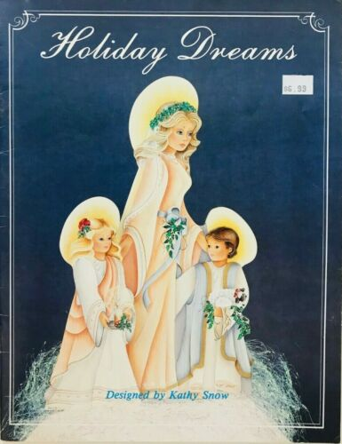 Holiday Dreams by Kathy Snow Decorative Tole Painting Book Christmas Halloween