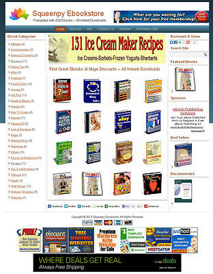 Home Based Business Online Ebook Store