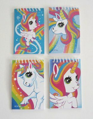 12 Unicorn Note Book Memo Pad Princess Birthday Party Goody Bag Favor -