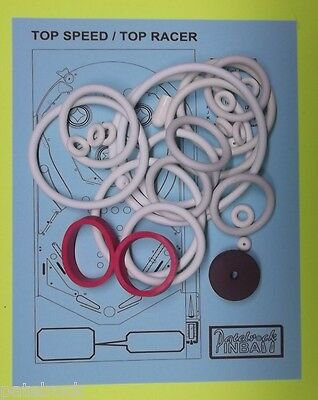 Recel Top Speed / Top Racer pinball rubber ring - Racer Pinball
