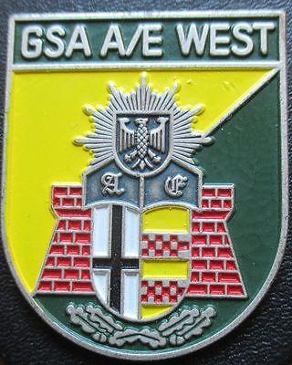 Brustanhänger Verbandsabzeichen  GSA A/E West (R)