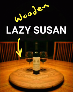 Wooden Lazy Susan - Hand Made and Brand New Halls Head Mandurah Area Preview