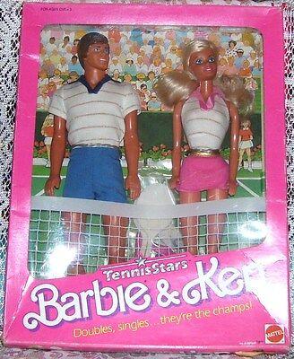 Mattel Barbie and Ken Tennis Stars 1988 Toys