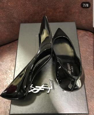 Saint Laurent Heels sz 37,5 Women Shoes Damen Schuhe Женские Туфли
