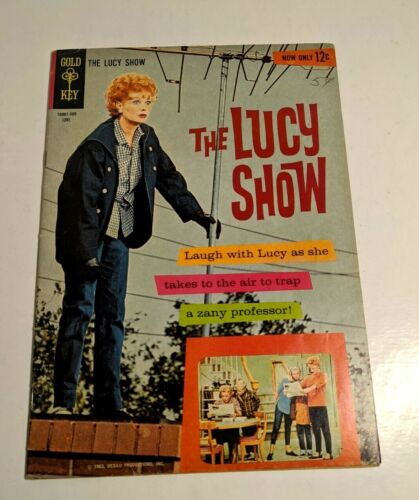 The Lucy Show comic book ORIGINAL & COMPLETE  Gold Key1963