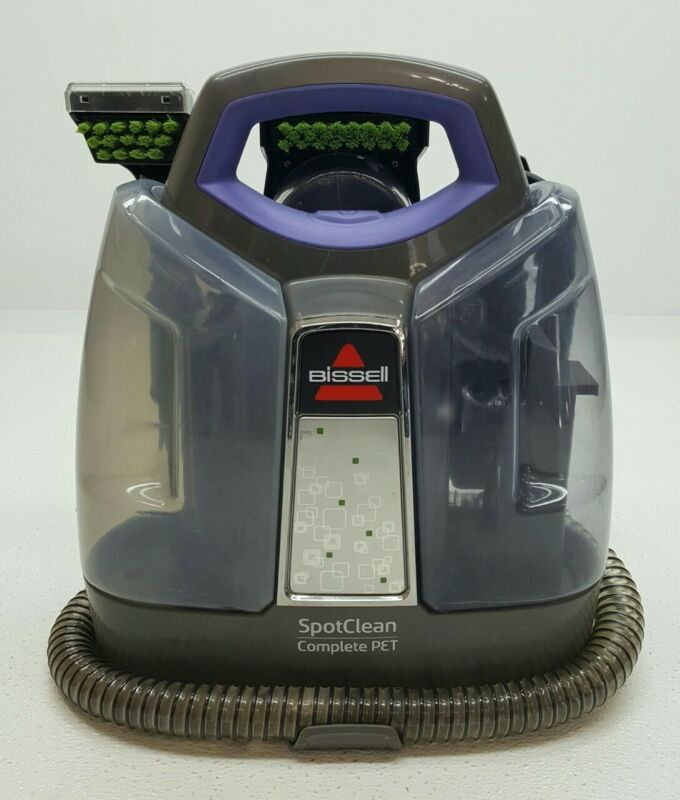 Bissell SpotClean Lightweight Complete Pet Carpet Upholstery Cleaner Purple