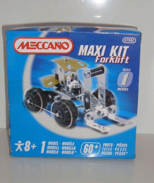 New & Boxed MECCANO MAXI KIT Forklift 0708C