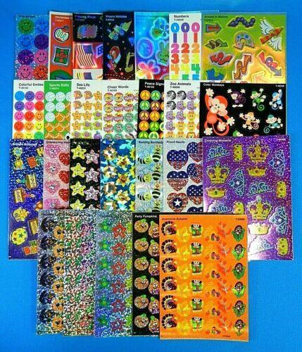 Trend Prismatic-Glitter-Foil Or Mini Stickers Sheet *You Choose