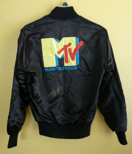 MADONNA FULL NAME Signed Autographed Vintage MTV Satin Jacket Beckett Certified
