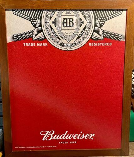 Budweiser Beer Dart Board Backboard Wall Protector
