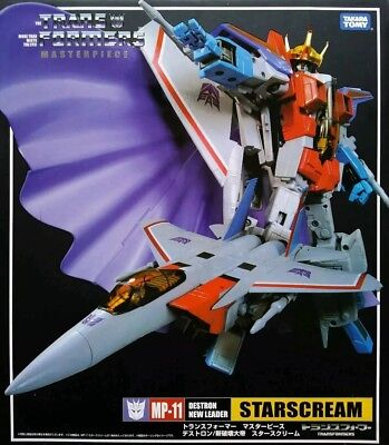 NEW Starscream MP-11 Transformers Masterpiece G1 CoronationUSA SELLER!